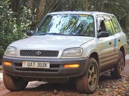 SUV Rental Toyota Rav4