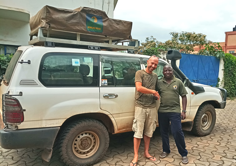4x4 Land cruiser, 4WD Self drive Jeep, Rooftop tent Car