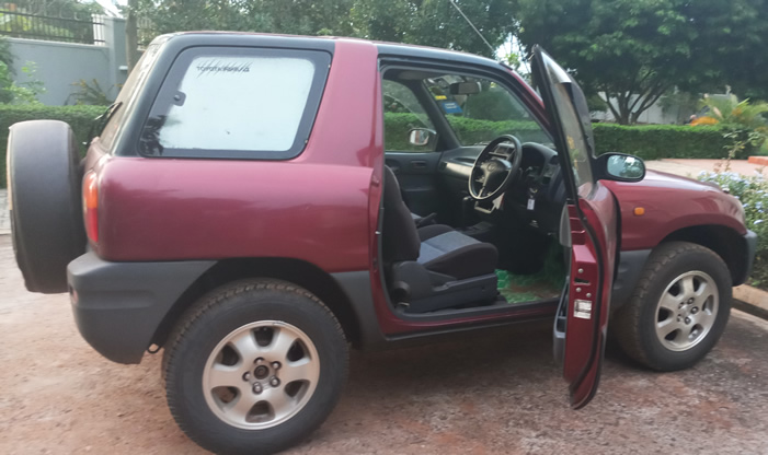 Toyota Rav4 Self drive